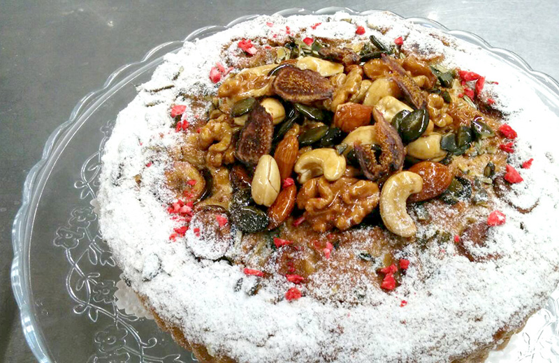 ヴィーガンケーキ